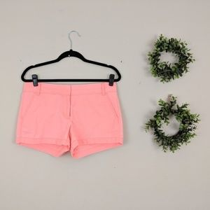 J. Crew Factory | Pink 3 Inch Chino Shorts 6